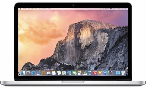 cấu hình macbook pro retina 13 inch 2014