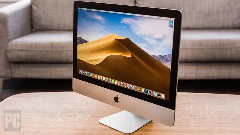 iMac 21.5 inch 2013 nhìn nghiêng
