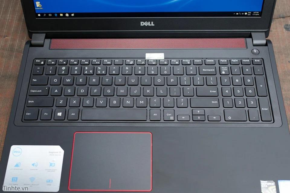 Bàn phím và touchpad Dell Inspiron 7559
