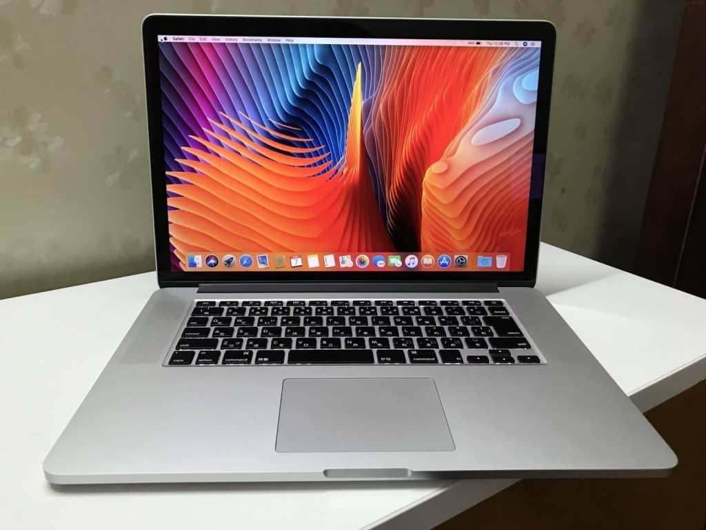 Cấu hình macbook pro 2015 15 inch