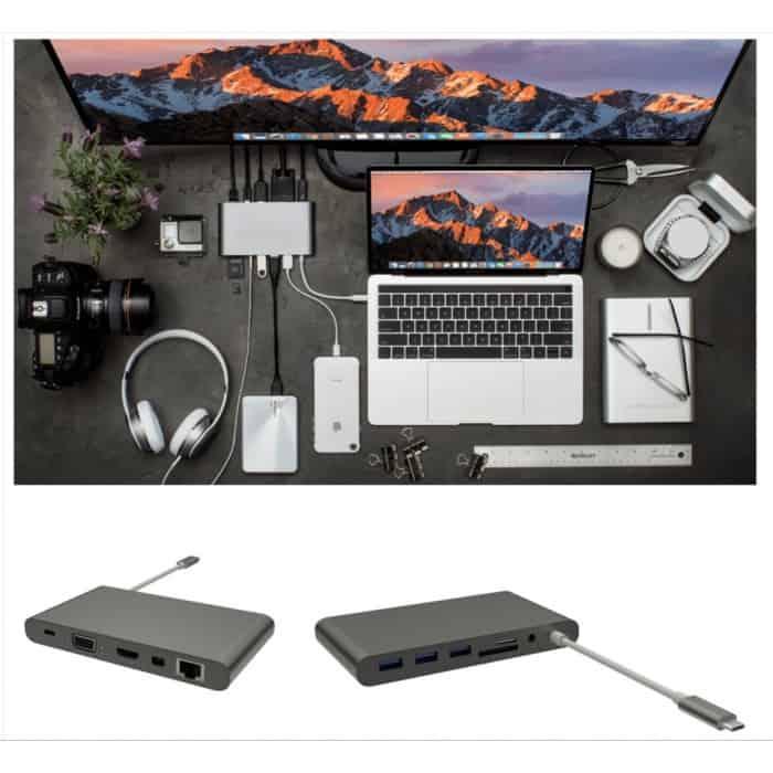 HyperDrive Ultimate USB C Hub 700x700