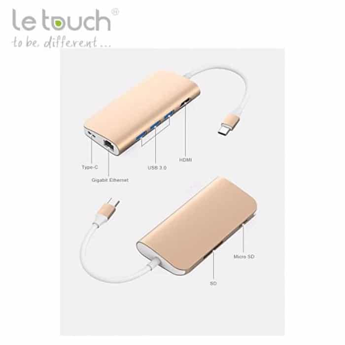 le touch usb c 8 in 1 gold b 700x700