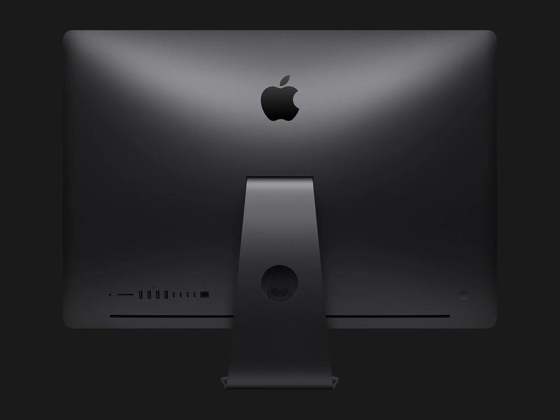 Mặt lưng iMac Pro