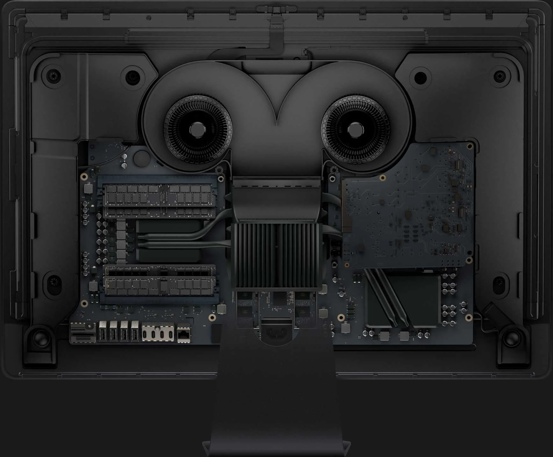 Bên trong iMac Pro