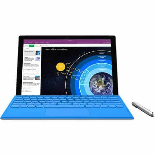 Surface Pro 4 Techspecs
