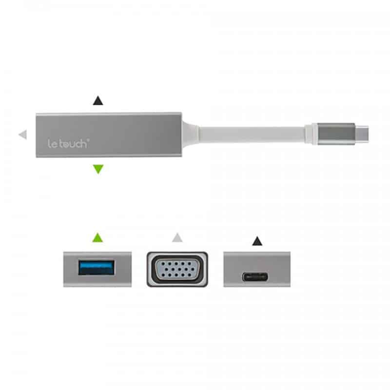 Chuyển USB C to VGA