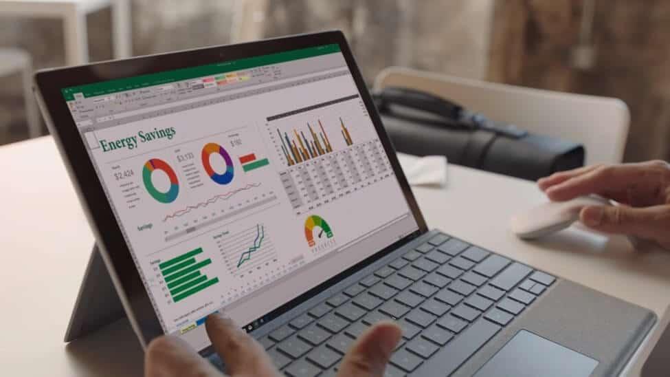 Review thời lượng pin của Surface Pro 5