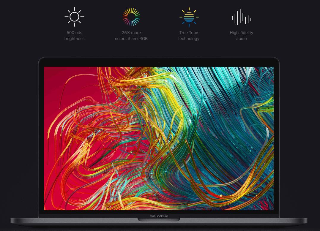 Đánh giá MacBook Pro 2019 - Màn Hình