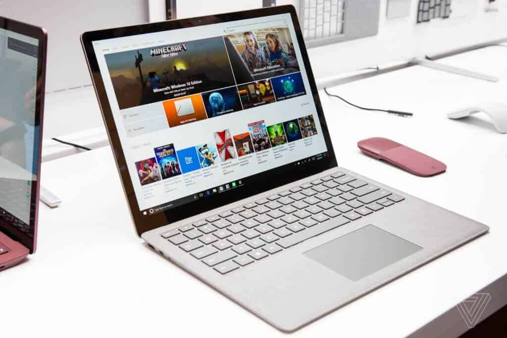 So sánh Surface Laptop và Surface Book