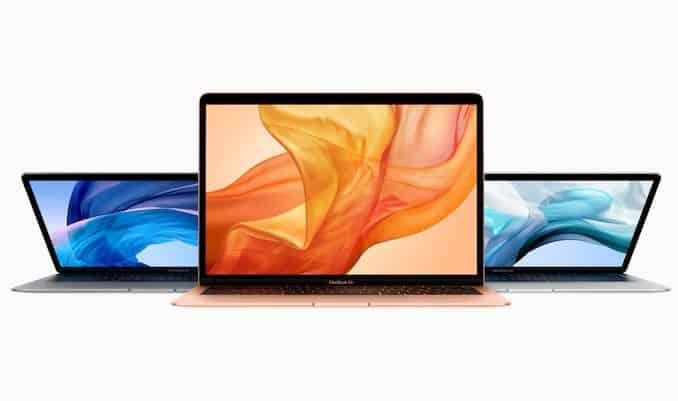 MacBook Air 2018 - 3 màu