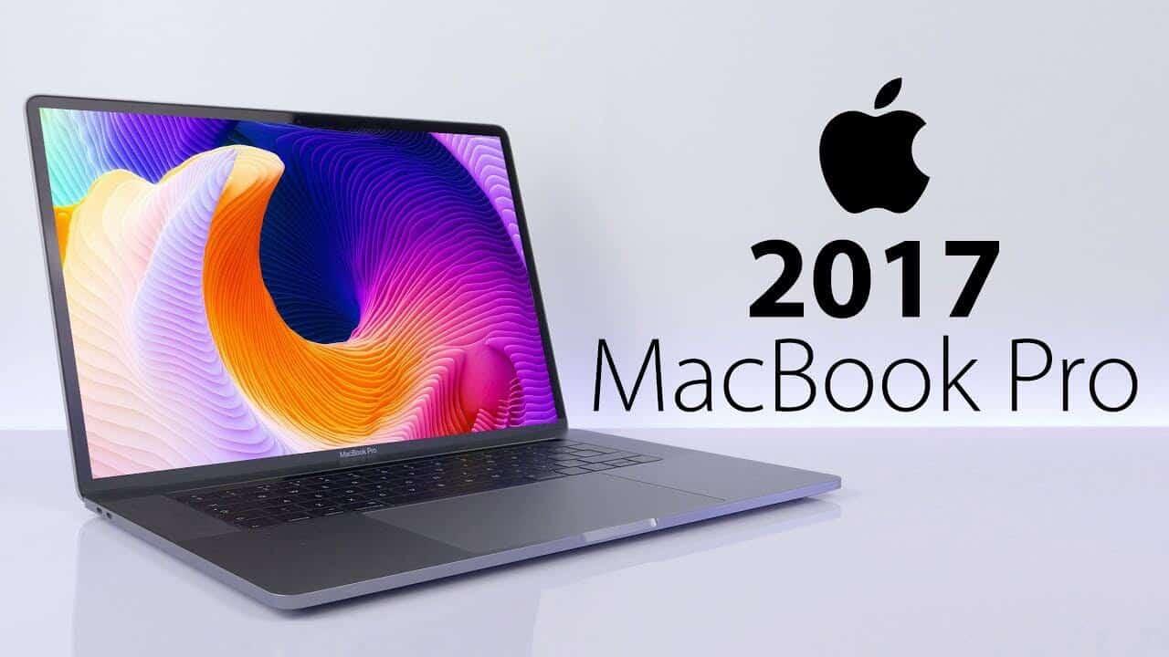 MacBook Pro 2017 - Laptop Vàng