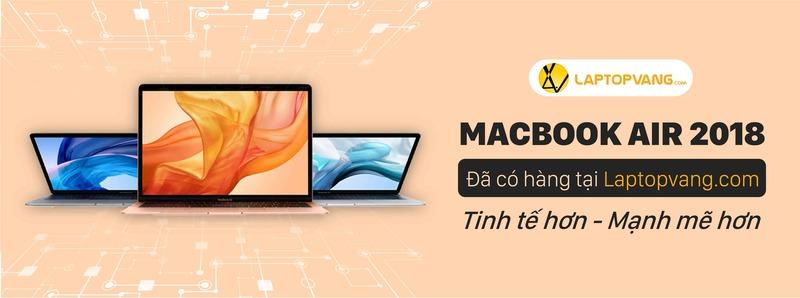 MacBook Air 2018 Đã Có Hàng