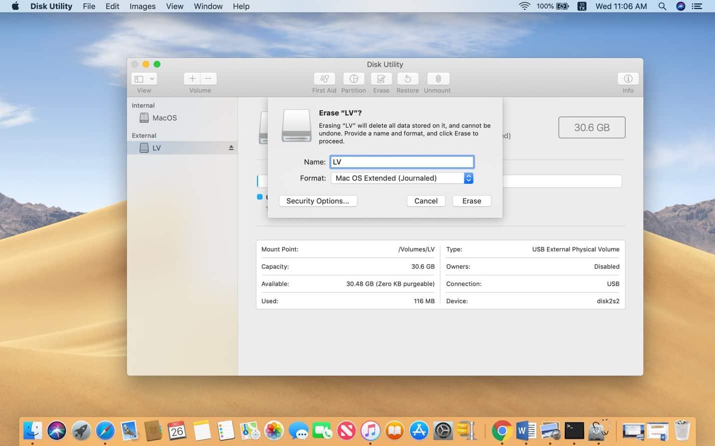 Tạo bộ cài MacBook