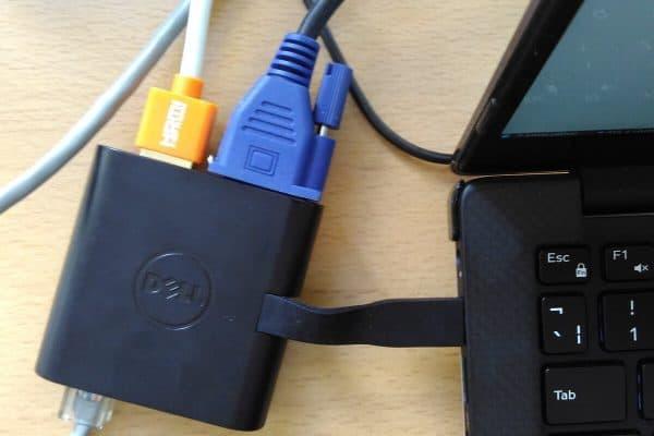 Adapter Dell USB C