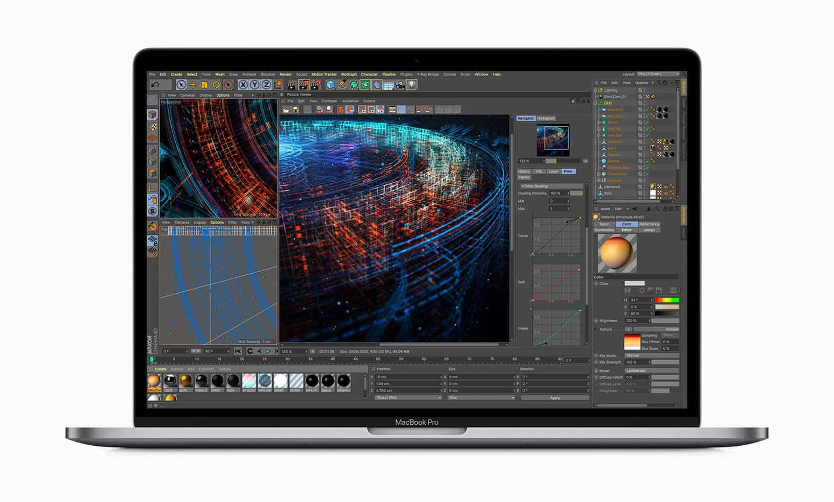 """Cấu hình """"SIÊU MẠNH"""" của MacBook Pro MV912 2019"""