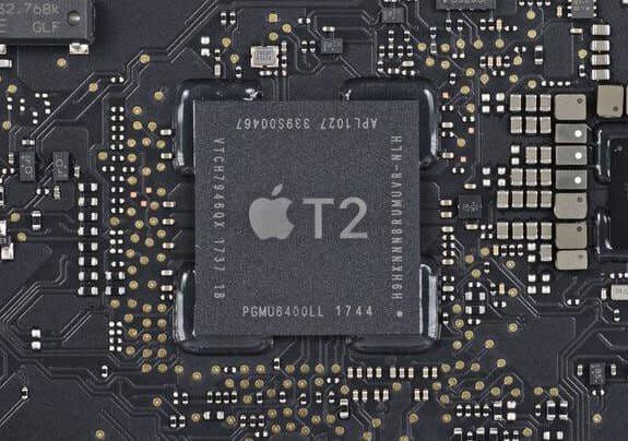 Chip bảo mật Apple T2 của MV942