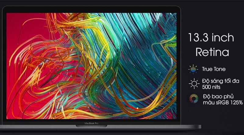 Macbook 15 inch MV902 màn hình Retina với công nghệ True tone