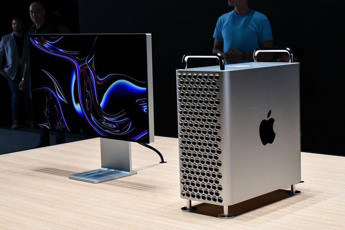 Ngoại hình tổng thể Mac Pro 2019