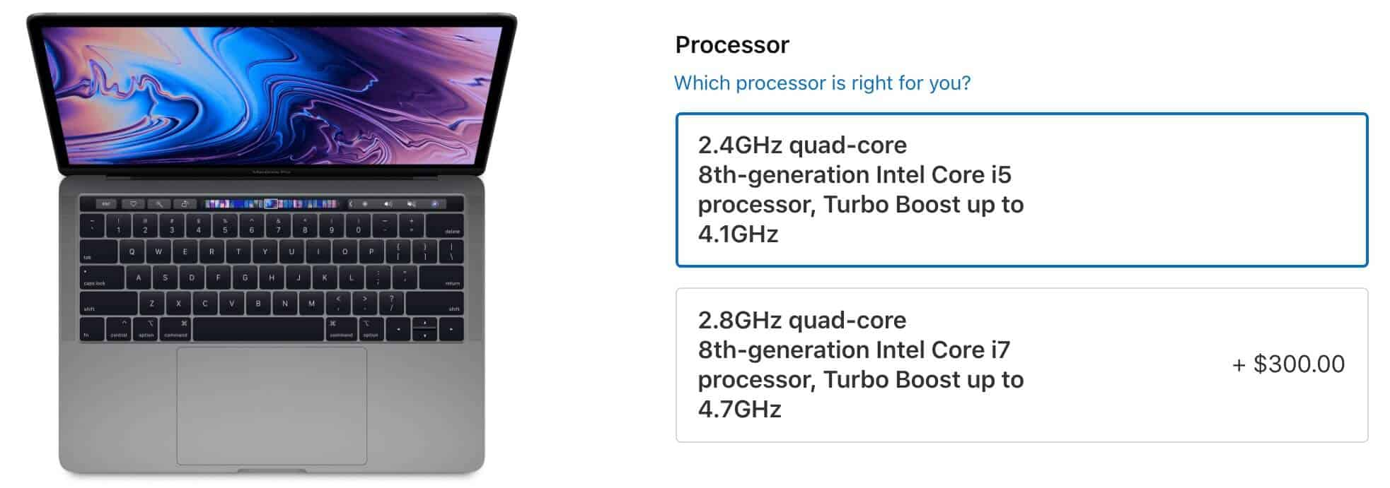 Thông số kỹ thuật Macbook Pro 2019 MV972