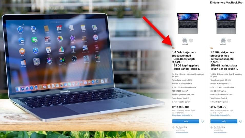CPU Macbook pro 2019 MUHQ2