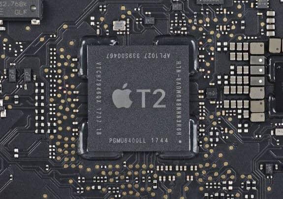 MacBook Pro 2019 MUHP2 được trang bị chip bảo mật Apple T2