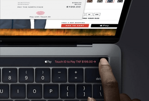Touch ID của Macbook Pro 2019 MUHN2