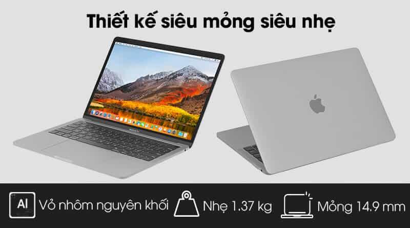 kích thước và trọng lượng của MacBook Pro 2019 MUHP2