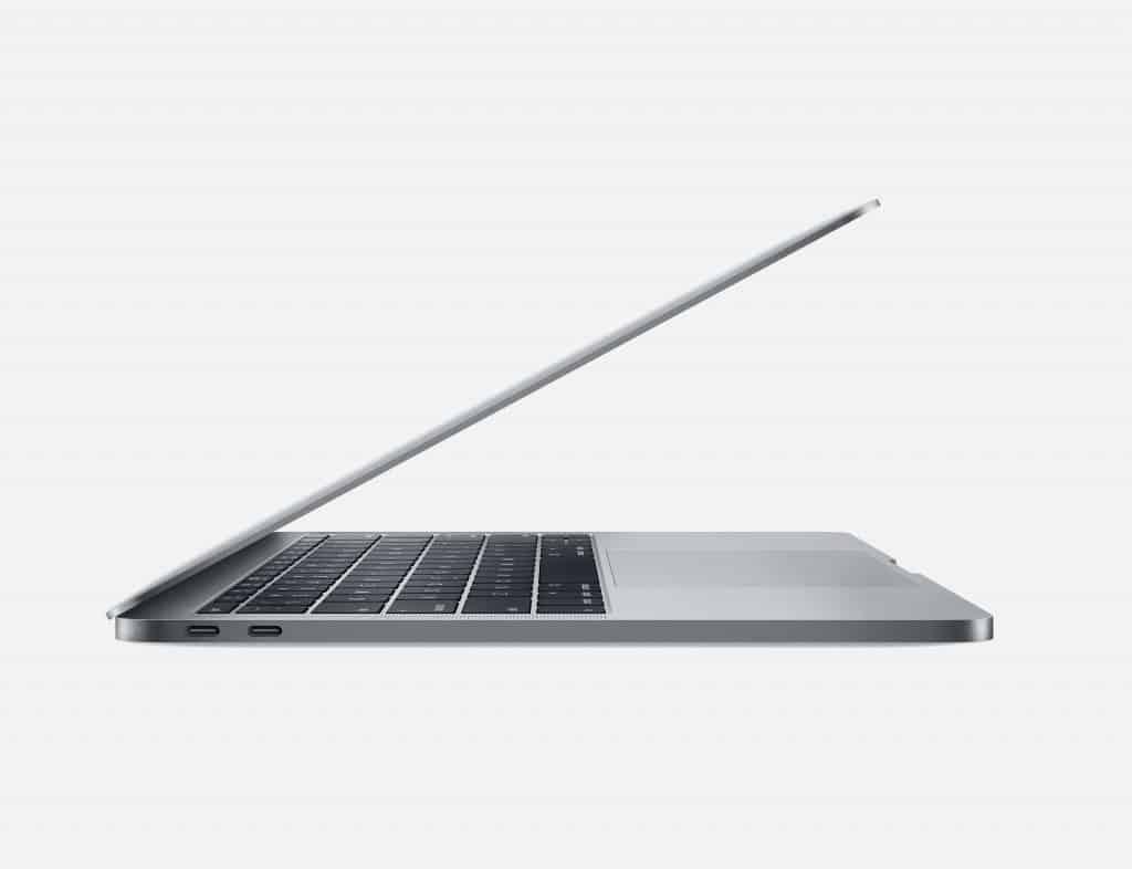 macbook pro 2019 MUHN2 có thiết kế kim loại
