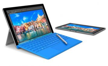 Thiết kế của Surface Pro 4 rất đơn giản sang trọng và tinh tế