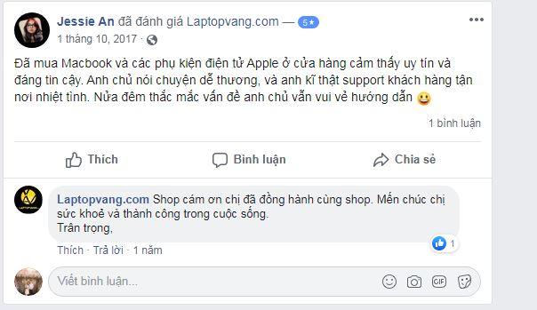 ý kiến của khách hàng Laptop Vàng