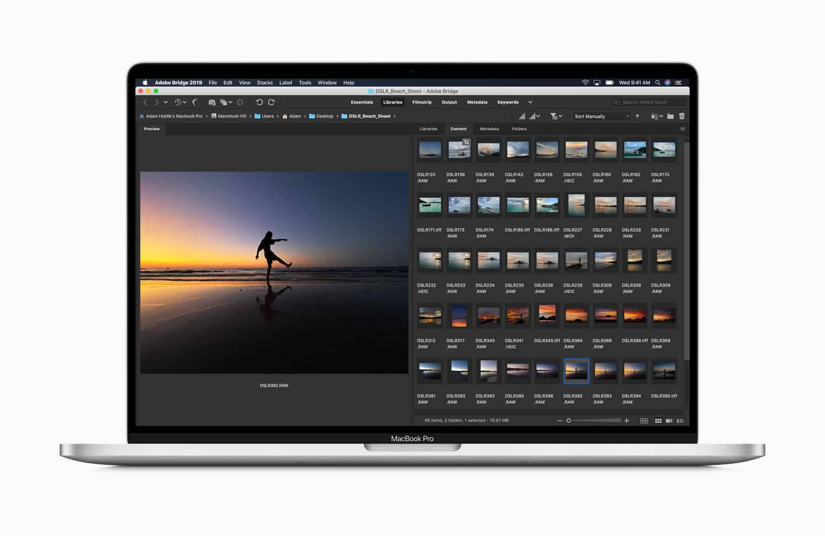 MacOS Cantalina trên MacBook pro 16 inch MVVK2