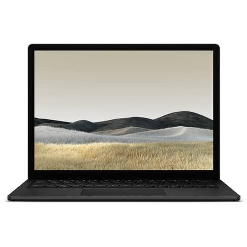 surface laptop 3-black -front