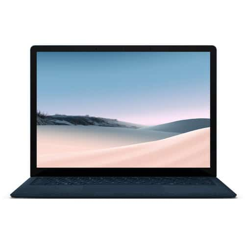 surface laptop 3-colbat blue-front