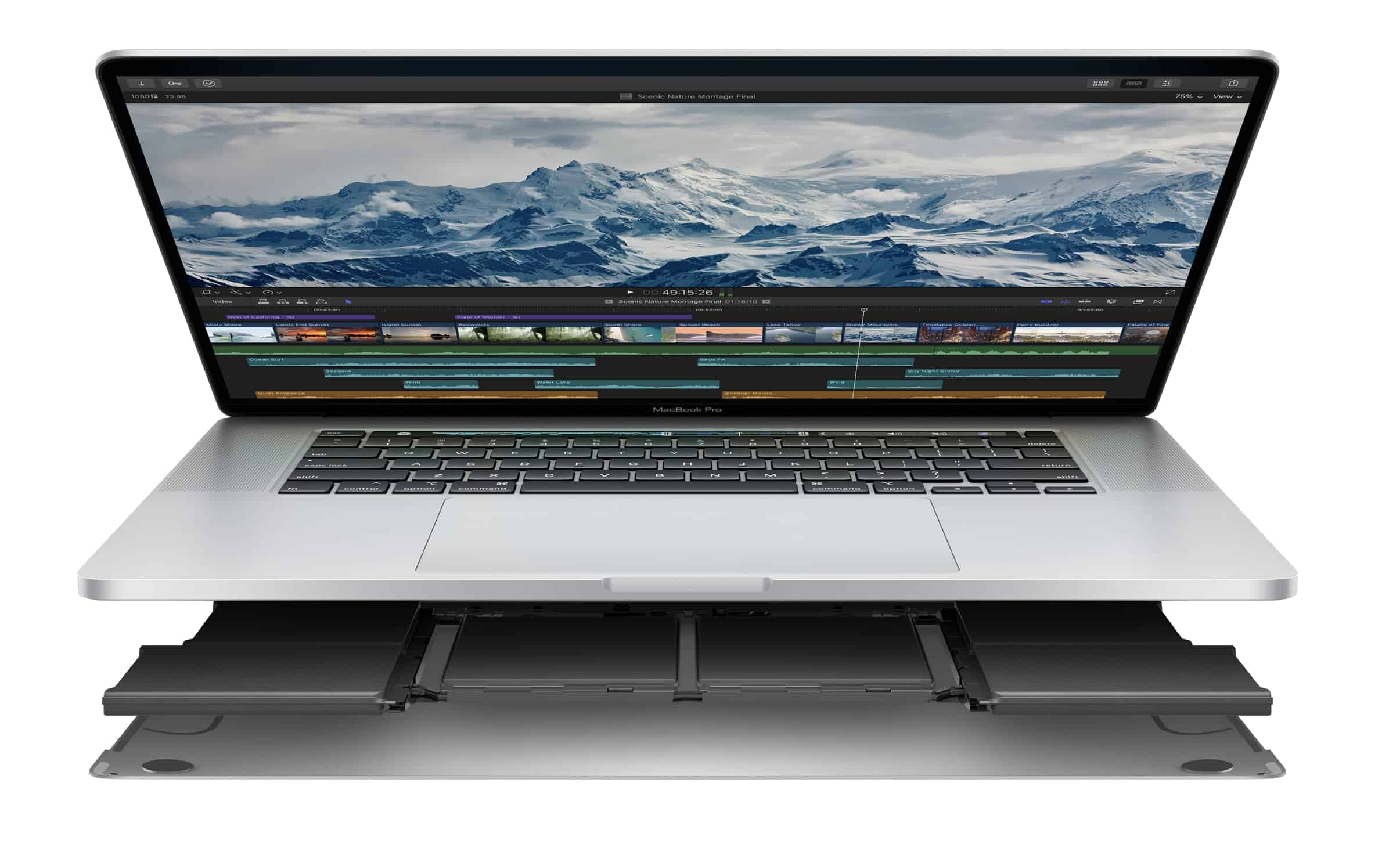 MacBook Pro 16 inch 2019 với cục pin 100Whr