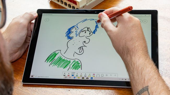 surface pen-laptopvang