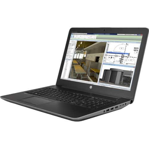 HP ZBook 15 G4 Ngoại hình