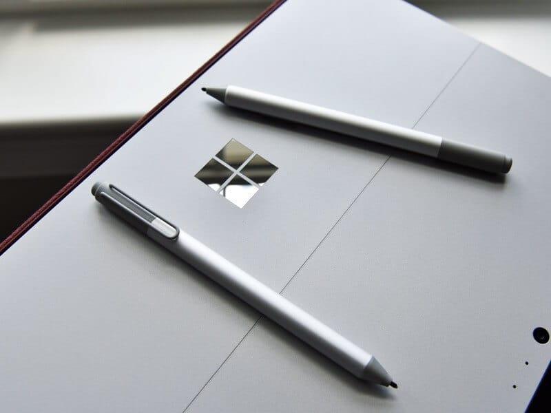 pen surface