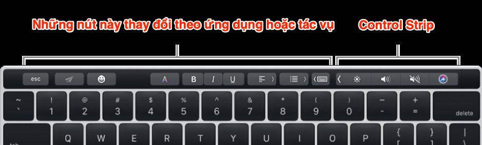 Touch Bar - MacOs