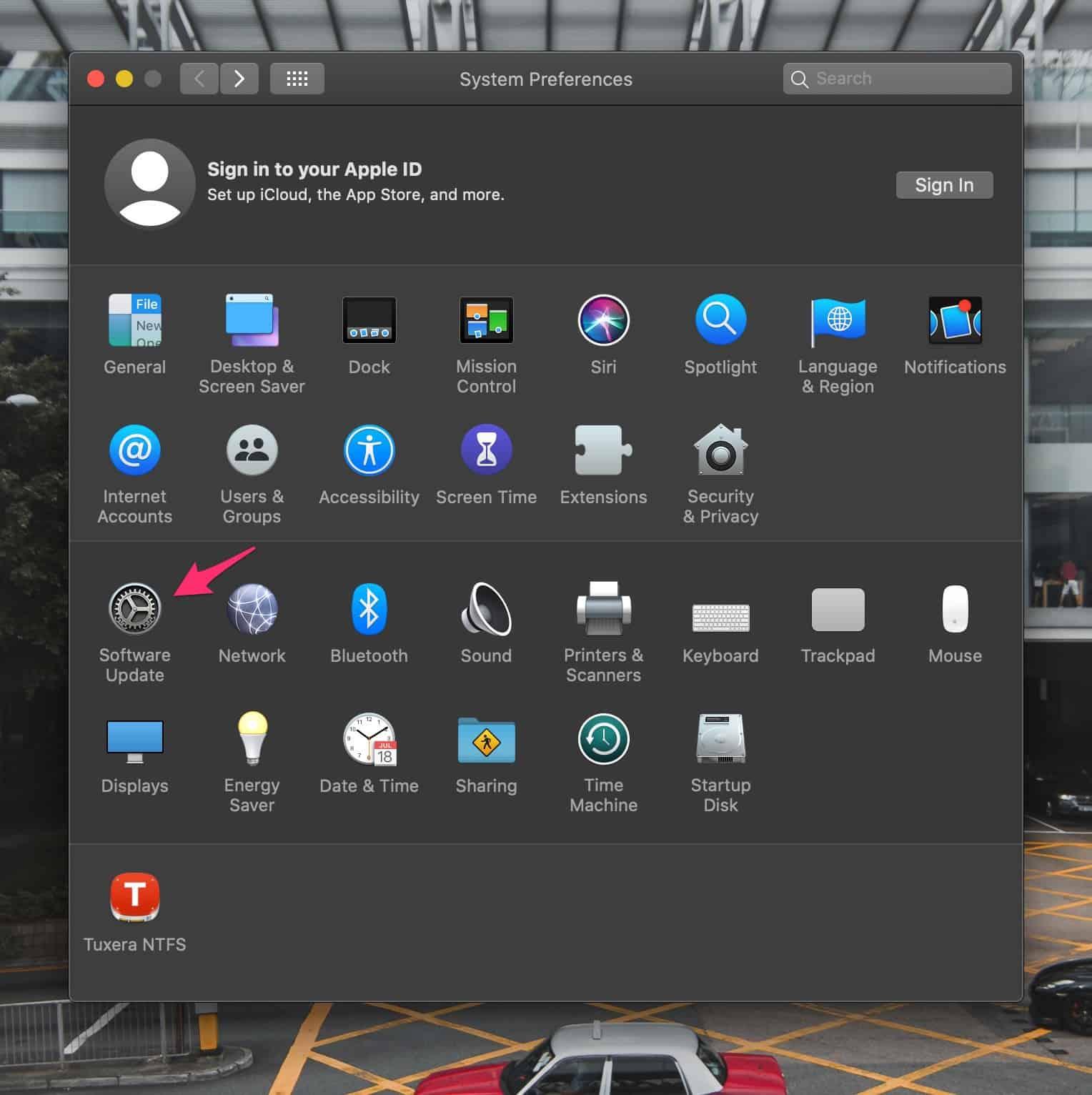 Kiểm tra bản cập nhật máy Mac một cách thủ công