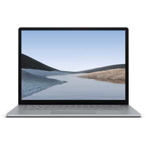 surface laptop 3 15inch platium