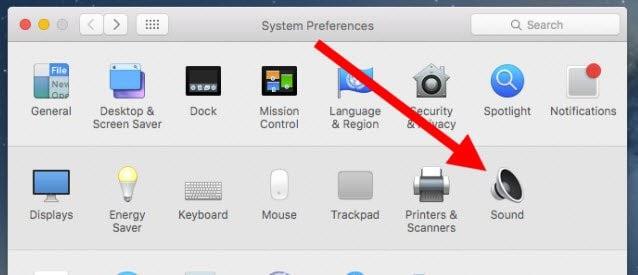 Kiểm tra lại cài đặt âm thanh trên Macbook