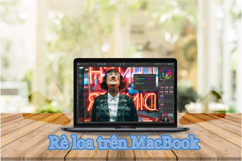 MacBook bị rè loa