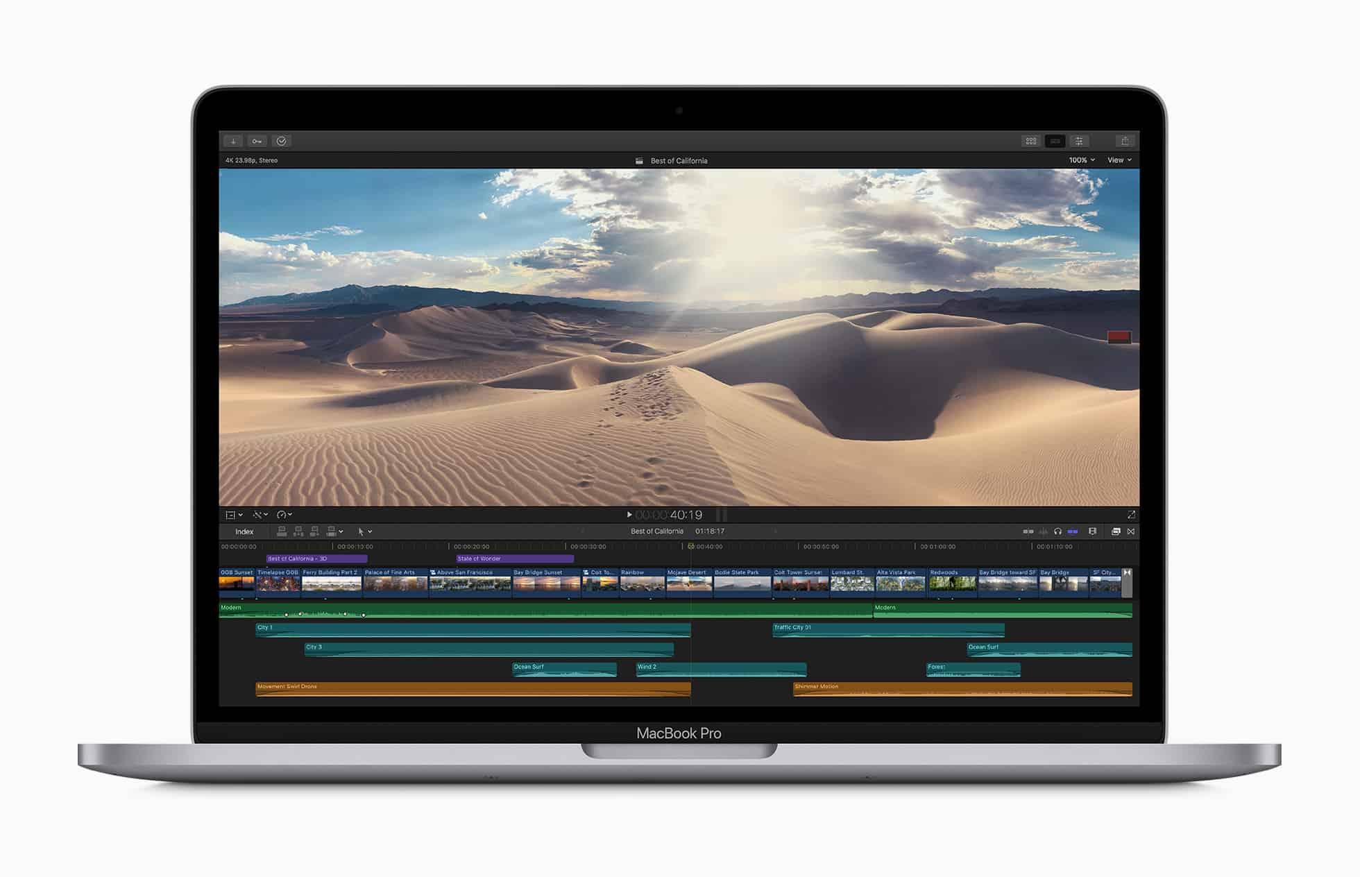 cấu hình macbook pro 2020 13 inch
