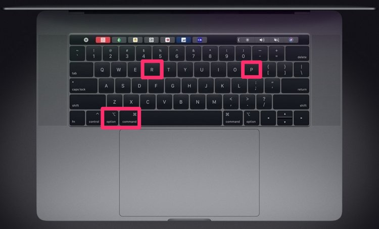 Reset PRAM trên MacBook