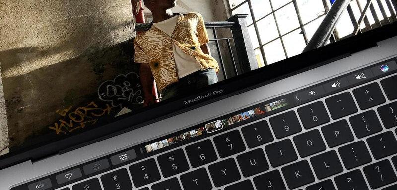 Touchbar MacBook Pro 13 inch 2017