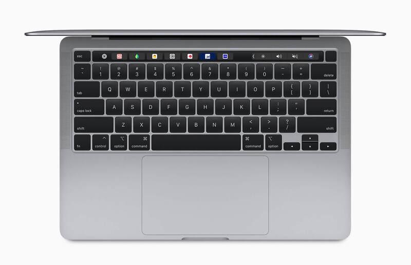 Bàn phím và Trackpad MacBook Pro 13 inch 2017