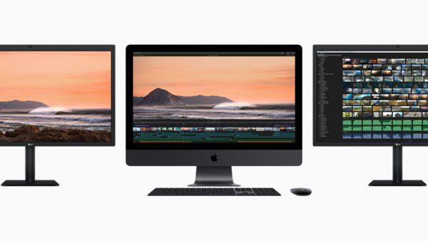 iMacPro ThunderBolt display threeup 20171214