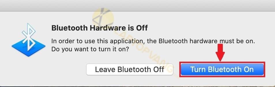 bluetooth of macbook