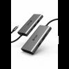Mazer USB C 7 in 1 MULTIPORT C SLIM Data Video Adapter