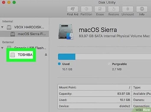 cách format usb trên mac